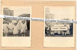 ZONHOVEN-UITZONDERLIJKE REEKS FOTOS-PRIESTERWIJDING-ANI MATIE-STOET-HEEL HET DORP OP DE BEEN-PRACHTIG! ! ! - Zonhoven