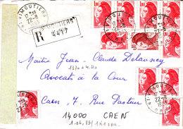 LRI+AR 2217x10+2179 Vimoutiers Caen - 1961-....