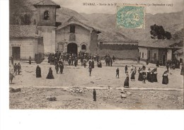 C P A--PEROU--HUARAZ--sortie De La Messe D'actions De Grâces (21 Septembre 1903)--voir 2 Scans - Pérou