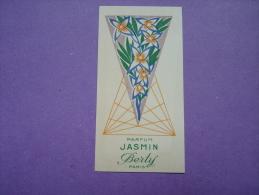 Carte Parfumée - BERTY - JASMIN - - Vintage (until 1960)