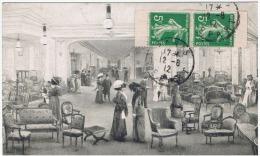 France:semeuse N°136 Paire De Carnet - 1906-38 Säerin, Untergrund Glatt