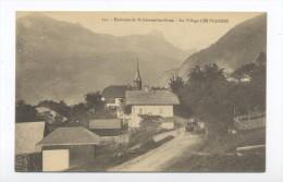 Environs De St-Gervais-les-Bains. Le Village Les Plagnes. - France