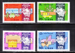 Lebanon 1974 Centenary Of Universal Postal Union MNH - Liban