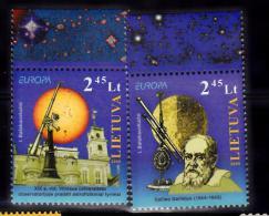 LITUANIE 2009 EUROPA  873 874 MNH - Lituanie