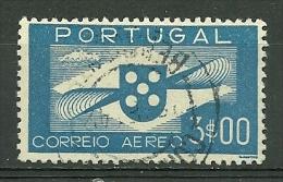Portugal #4 Airmail 3$00 Used - L2251 - Poste Aérienne