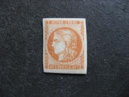 RR Et TB N° 48, Neuf XX. Signé Calves. - 1870 Bordeaux Printing
