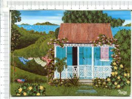 CARIBBEAN    ART    -  Cul De Sac  - Habitation - Antilles Neérlandaises
