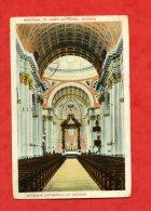* CANADA-Intérieur Cathédrale St. Jacques-MONTREAL-1928(Voir Les 2 Timbres) - Montreal