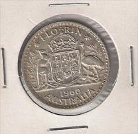 B10 Australia Florin 1960. - Monnaie Pré-décimale (1910-1965)