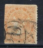 Sello 12 Cuartos Isabel II 1868, Fechador Y Marca PD, Num 100A º - 1850-68 Reino: Isabel II