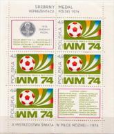 Poland MNH SS - Coppa Del Mondo
