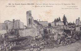 Cp , MILITARIA , La Grande Guerre De 1914-1915 , REVIGNY , Occupée Du 5 Au 11/09/14 Et Pétrolée Par Les Allemands - Guerra 1914-18