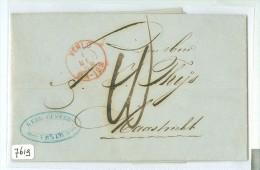 HANDGESCHREVEN BRIEF Uit 1868 * Gelopen Van VENLO Naar MAASTRICHT  (7619) - Briefe U. Dokumente