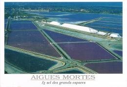 AIGUES MORTES - Le Sel Des Grands Espaces - GARD - La Baleine - 2 Scans - Aigues-Mortes