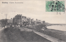 India Postage, Bombay To Genova Italy 1912 Half Anna + Half  Half Anna - India (...-1947)
