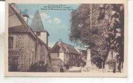 Saint Augustin, Eglise Et Monument Aux Morts - France