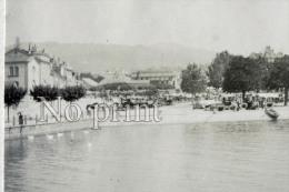 Glion Photo De 1899 Jour De Marché - Suisse Lac Léman - Environs De Caux - Photographie Originale  - Commune De Montreux - Places