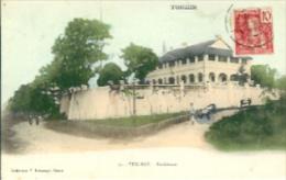 TONKIN:Yen-Bay:Résidence. 1900.Timbre Côté Face. - Cartes Postales