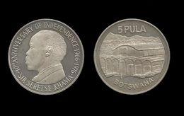 BOTSWANA . SERETSE  KHAMA .  5 PULA . 1976 . - Botswana