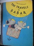 Album BABAR: THE TRAVELS OF BABAR (Jean De Brunhoff 1961) En Anglais - Enfants