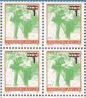1990 X 2433 C  JUGOSLAVIJA DEFINITIVA POSTA OVERPRINT PERF- 12 1-2 MNH - Post