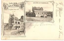 Niedersachsen - GRUSS Aus LAUENAU - Restaurant Louis Rupp +++ To Paris, 1907, France ++ Alb. Windhorn, Barsinghausen +++ - Schaumburg