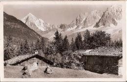 CP Chamonix Mont Blanc Mt Chaîne Des Aiguilles Vue De Chamrousse 74 Haute Savoie - Chamonix-Mont-Blanc