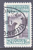 Spanish Tanger SR 24    (o)  Telegraph - Spaans-Marokko