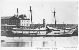 Aviso CASSARD (Marine Nationale) - Carte Photo éd. Marius Bar - Bateau/ship/schiff - Guerra