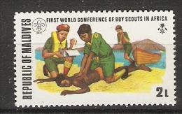 Maldives  1973  Scouts Congress  2L  (**) MNH - Maldives (1965-...)