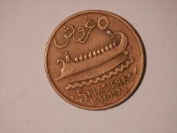 5 Piastres 1936 - Libanon