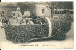 Nantes ( Loire Atlantique), Mi-Carême De Nantes 1932,Revanche Des Oubliés,Enfants,Père Noël,Voiture Sabot   ,Gros Plan - Nantes