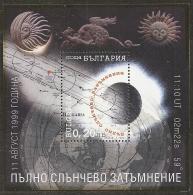 ESPACIO - BULGARIA 1999 - Yvert #H195 - MNH ** - Espacio
