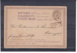 Finlande - Entier Postal - Avec Cachet ANK - Enteros Postales