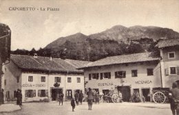 [DC8629] SLOVENIA - CAPORETTO - LA PIAZZA - RARISSIMA CARTOLINA VIAGGIATA 1916 - Slowenien