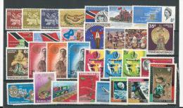 Trinité: 197/ 199 + 204/ 209 + 214/ 225 + 247/ 255 ** - Trinité & Tobago (1962-...)