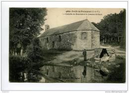Forêt De Paimpont La Chapelle De Beauvais Et La Fontaine St Roch - Paimpont