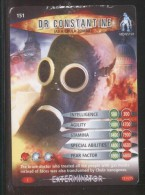DOCTOR DR WHO BATTLES IN TIME EXTERMINATOR CARD (2006) NO 151 OF 275 DR CONSTANTINE PLAYED CONDITION - Cinema & TV