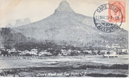 South Africa Card To Germany 1923  MYRTLE  GROVE  MARKET, SEA  POINT - South Africa (...-1961)