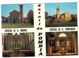 NOVARA - SALUTI DA POMBIA - Novara
