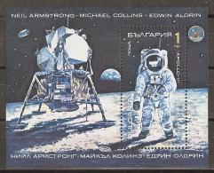 ESPACIO - BULGARIA 1990 - Yvert #H167 - MNH ** - Spazio