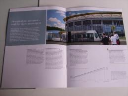 Alt291 Pieghevole Pubblicitario, Promotional, Siemens Avenio, Tram Tramway, Straßenbahn, Tranvía - Transporto