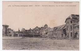 80 - ROYE - La France Reconquise (1917) - ROYE - Sucrerie Mandrou, Rue De Paris - Cour Intérieure - Roye