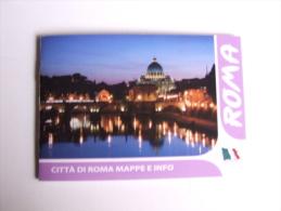 Alt292 Mappa Info Città Di Roma, Colosseo, Castel Sant'Angelo, Fori, Musei Vaticano, Campidoglio - Europa