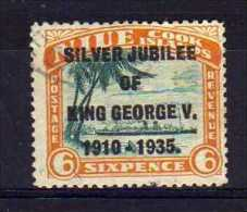 Niue - 1935 - 6d Silver Jubilee - Used - Niue