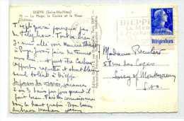 MARIANNE DE MULLER / PUBLICITE  REFRIGERATEURS / SUR CARTE DE DIEPPE - Advertising