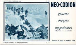 - BUVARD - NEO-CODION - Alpinisme -  185 - Produits Pharmaceutiques
