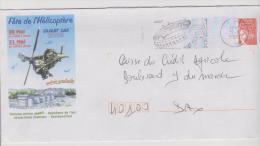 PAP De Dax Fete De L'hélicoptère EA.ALAT Dax Du 20 Et 21 Mai 2000 - Entiers Postaux