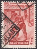 Belgium, 10 F. 1946, Sc # Q285, Mi # 271, Used - Railway