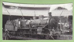 Gare SALAMANCA, 1963 : Locomotive Sur Pont Tournant. Estacion. Photo Dahlstrom - Treni
